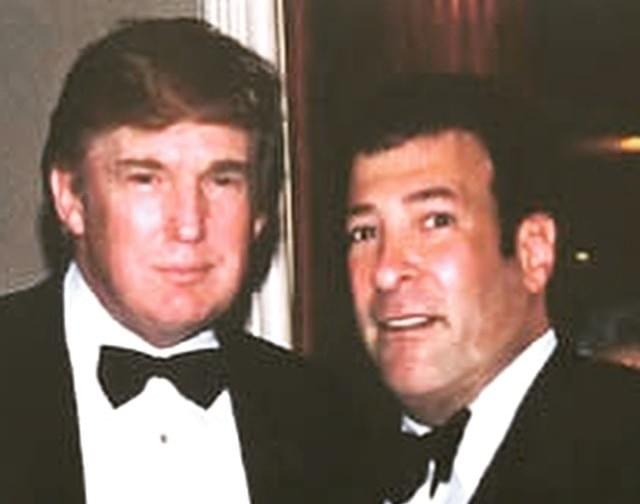 Image result for mark simone and trump