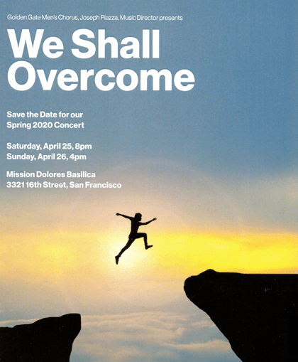 "Cover Image - GGMC Spring 2020 Concert ""We Shall Overcome"""