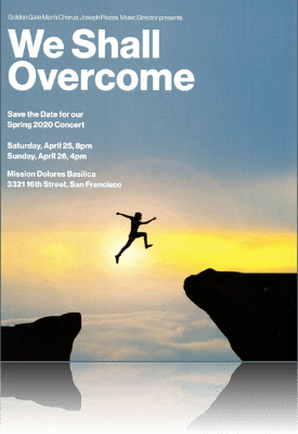 Concert Program Cover Image for We Shall Overcome