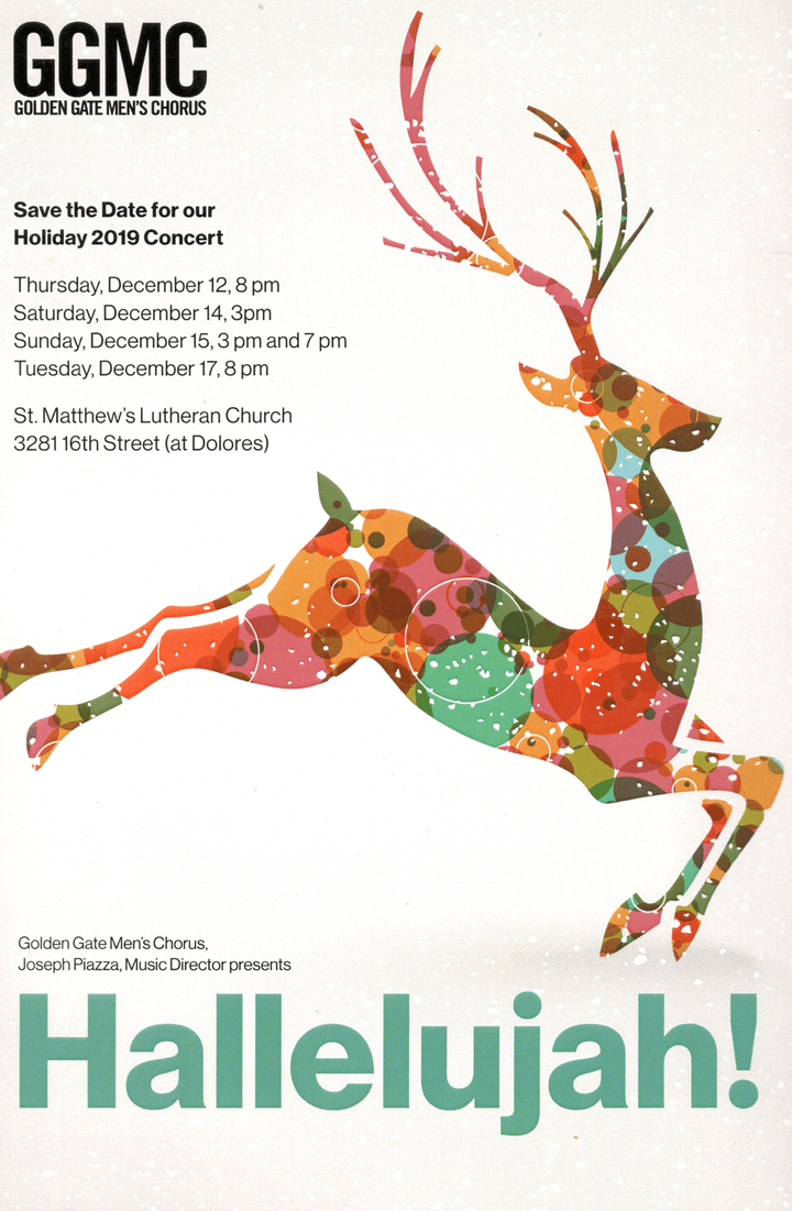 GGMC Holiday 2019 Concert Series