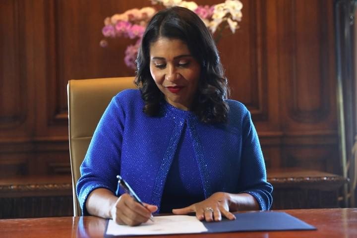 Picture of San Francisco Mayor, London Breed