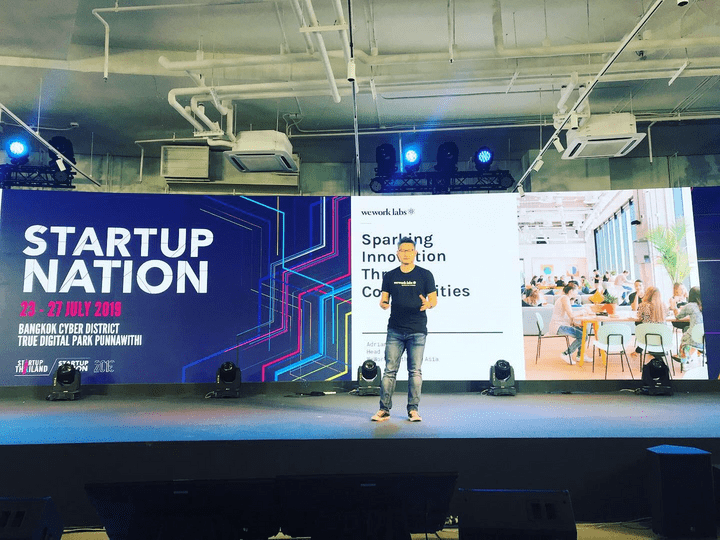 Adrian Tan Keynote Speaker at Startup Thailand 2019