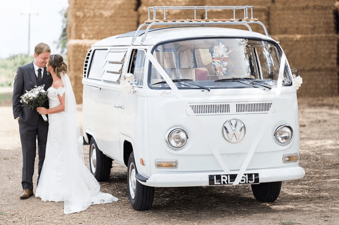 Pearls VW Wedding Vehicle Hire