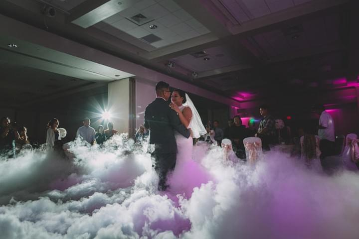 Suffolk Wedding Events Low Fog Machine