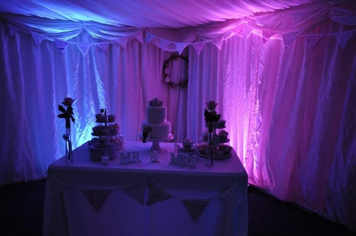 Suffolk Wedding Events Uplighters