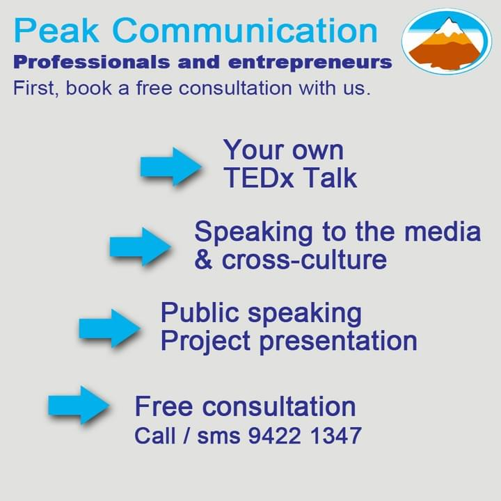 Infographic displaying the benefits of collaborating with Peak Communication for communication training