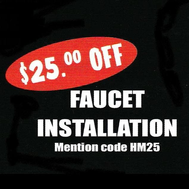 Save 25 Dollars With This Faucet Installation