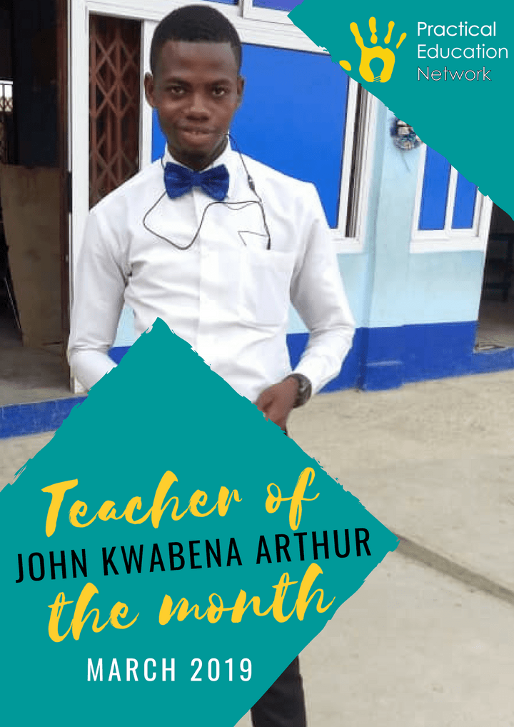 Practical Education Network's Teacher of the Month