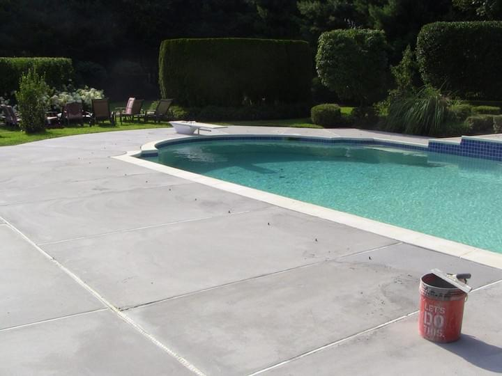 TC Construction Pool Concrete