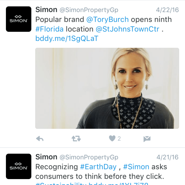 Simon On Social Media