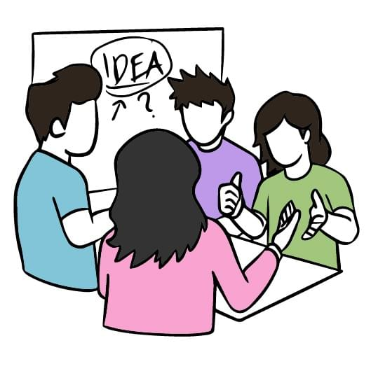 use assessment criteria to converge on an idea