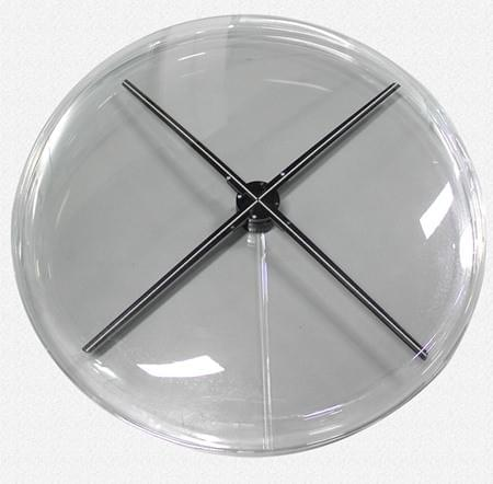 F-H4 round cover for 100 cm holographic LED fan