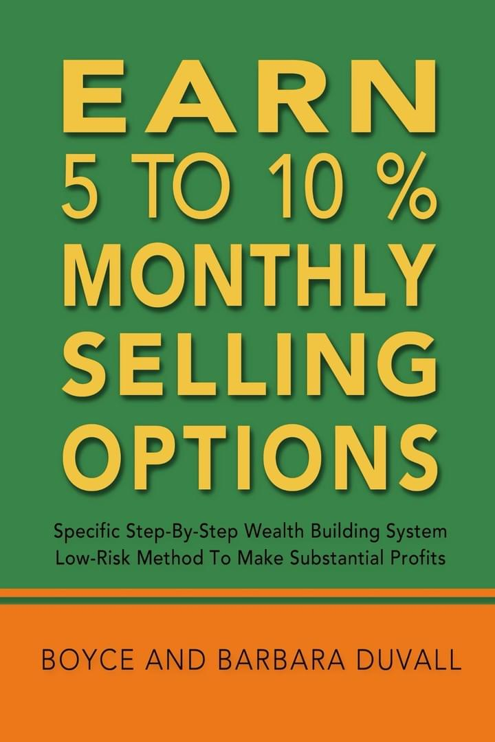 Earn 5 to 10% Monthly Selling Options - Blocker Publishing