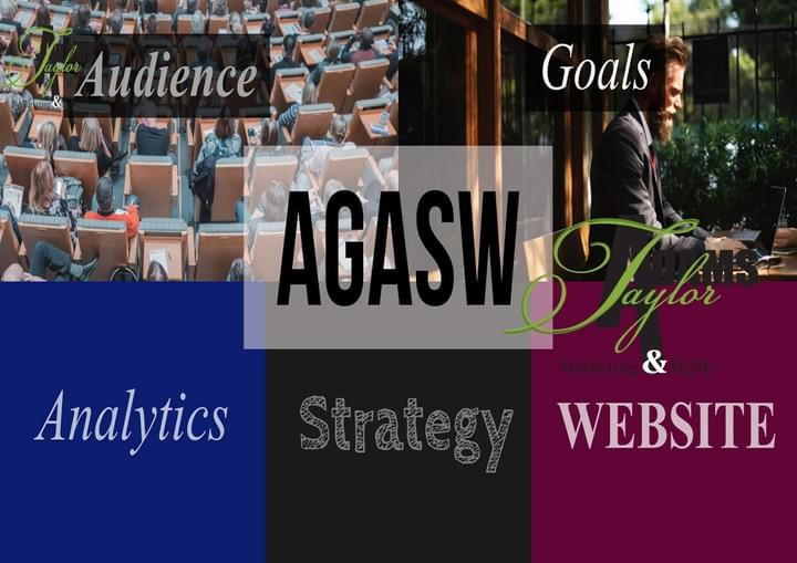 Get your marketing swag on. Use TaylorAdams AGASW method to build effective marketing campaigns