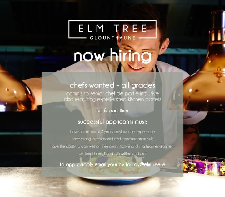 jobs east cork restaurant