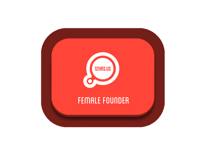 PRESS to  nominate a FEMALE FOUNDER