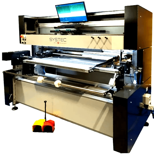 STAR-VP, fully motorized plate mounter