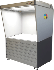 Color control station for flexo and rotogravure