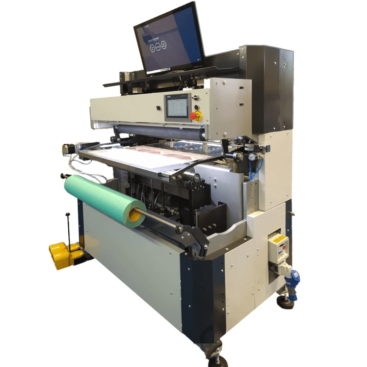 MIDI is the plate mounter for mid-size flexo printing