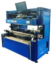 Semi-automatic plate mounter