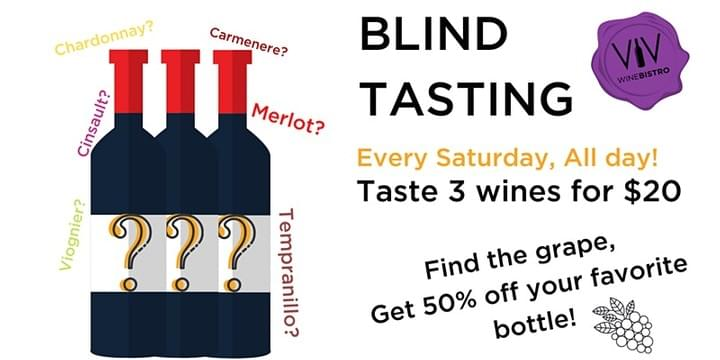 Saturday blind tasting in Viv Key West