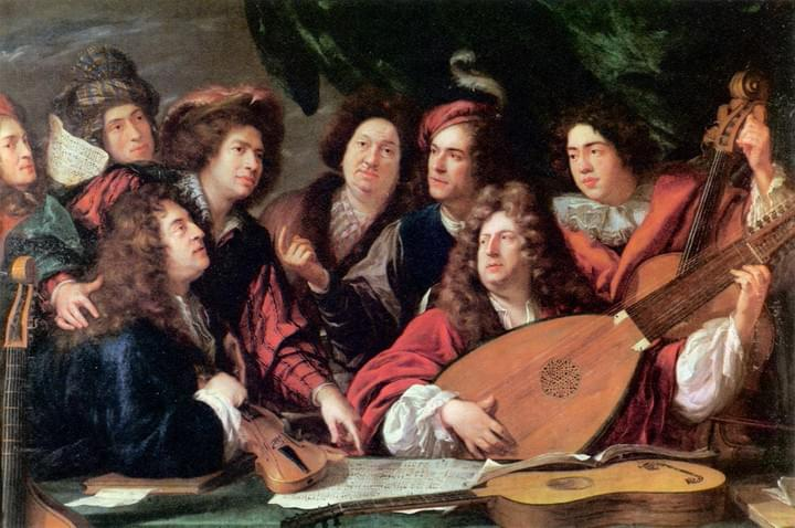 Early music Key West old painting