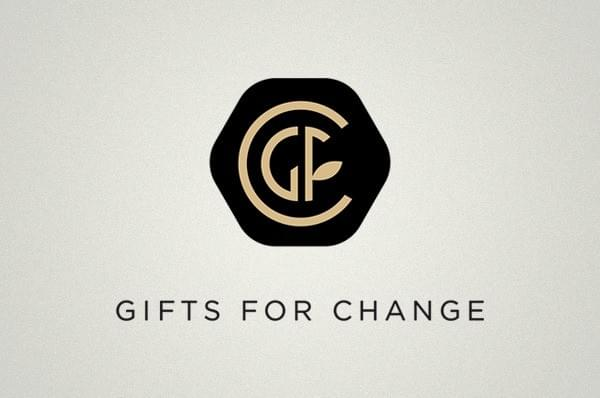 Logo de Gifts for Change, cadeaux responsables