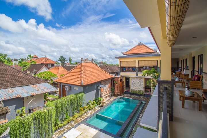 Ubud guesthouse by Monkey Forest and Ubud Palace