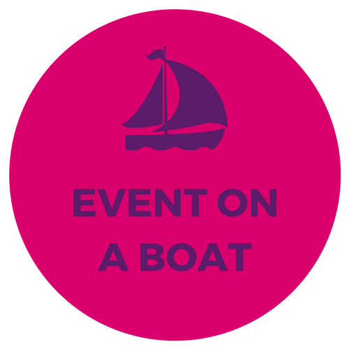 corporate event on a ship boat yacht