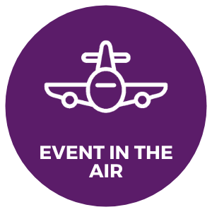 corporate event ideas programme tips private jet charter flight rent