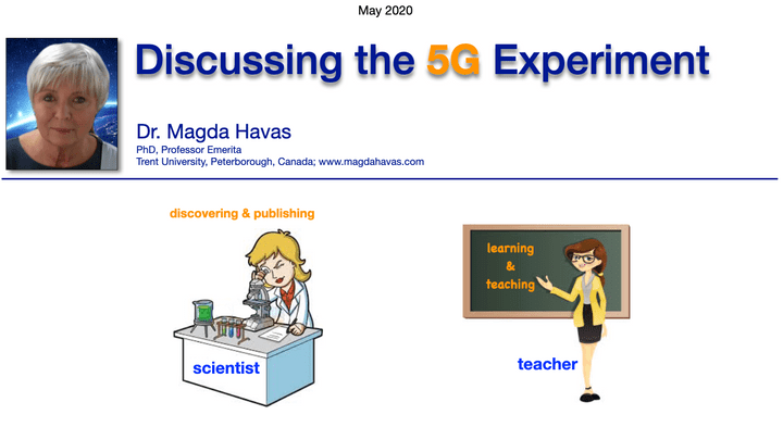 Dr. Magda Havas - The 5G Experiment - Reconsider 5G May 2020