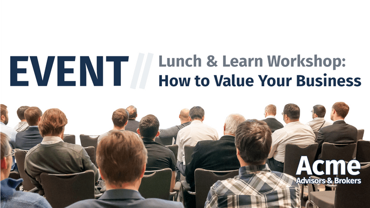 AAB Events - How to Value Your Business