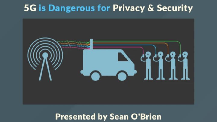 Sean O'Brien - 5G Is Dangerous for Privacy & Security - Reconsider 5G May 2020