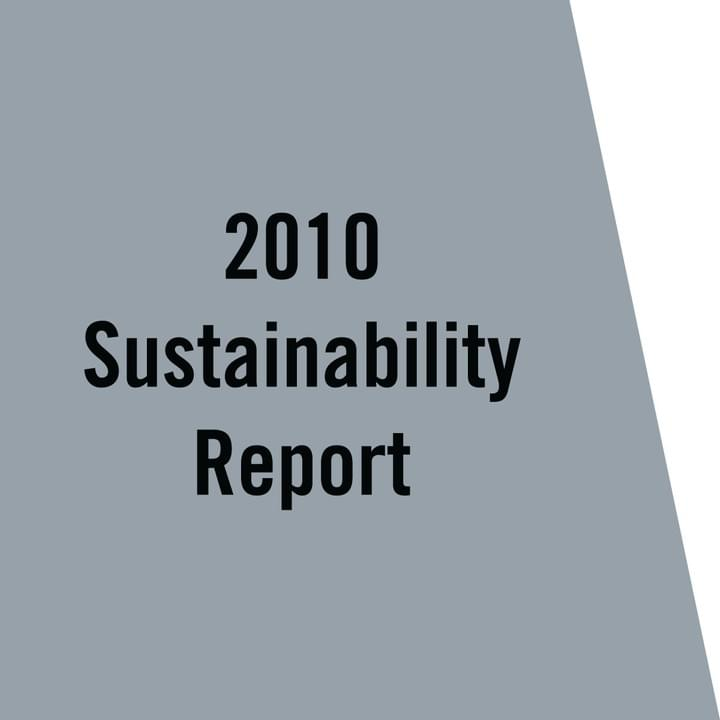 VCNY Home 2010 Sustainability Report