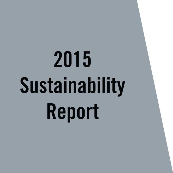 VCNY Home 2015 Sustainability Report