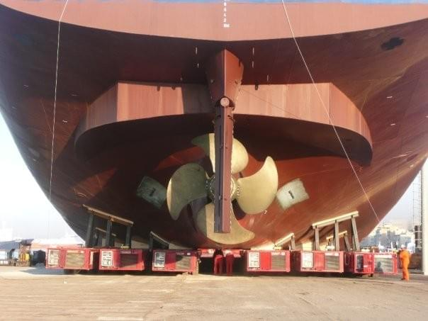 MV GRETA Propeller tunnel