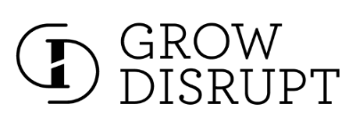 Hosted by Grow Disrupt Logo