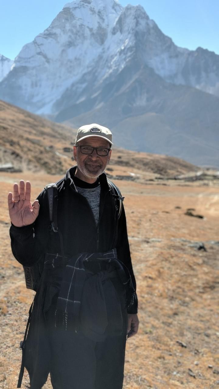 Dhiren Shah, Everest Base Camp trek 2018