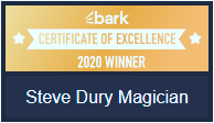 Steve Drury. 2020 Certificate of Excellence