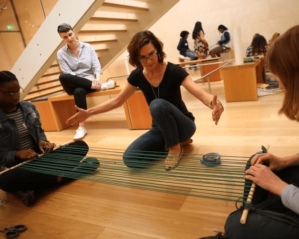 Interactive Loom Workshop, Nasher Sculpture Center
