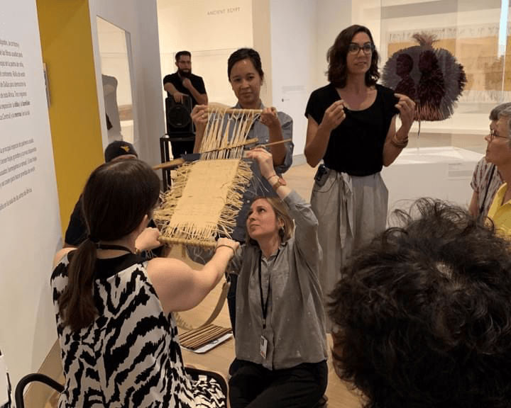 Gallery Talk, Wearable Raffia, Dallas Museum of Art