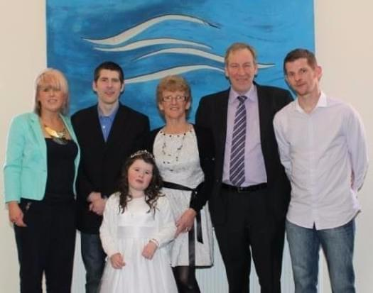 Padge, Kate, Ella and the rest of the quirke family.