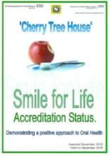 Cherry Tree House. Smile for Life. Quality accreditation
