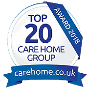 Salveo Care  - Carehome  Top 20 Group 2018