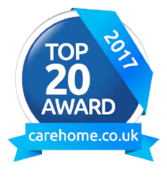 Cherry Tree House - Featured in Top 20 Recommended Care Homes South East England 2016