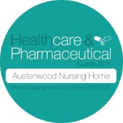 Austenwood - Private Nursing Home of the Year 2016