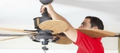 Replacing ceiling fan