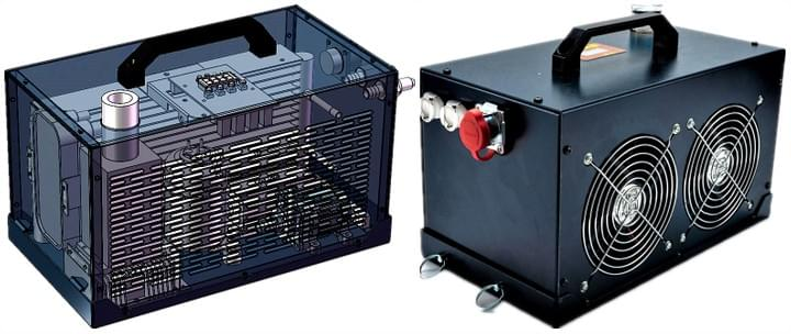 12V Compact Cooler for body cooling, personal cooling and commercial cooling
