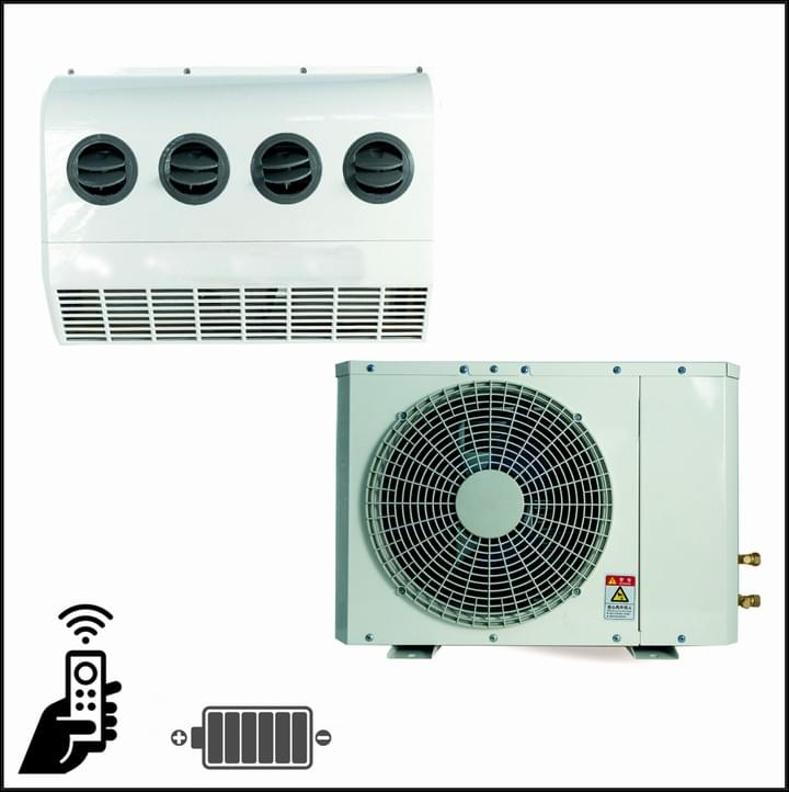 DC Air Conditioner, DC aircon parking cooler