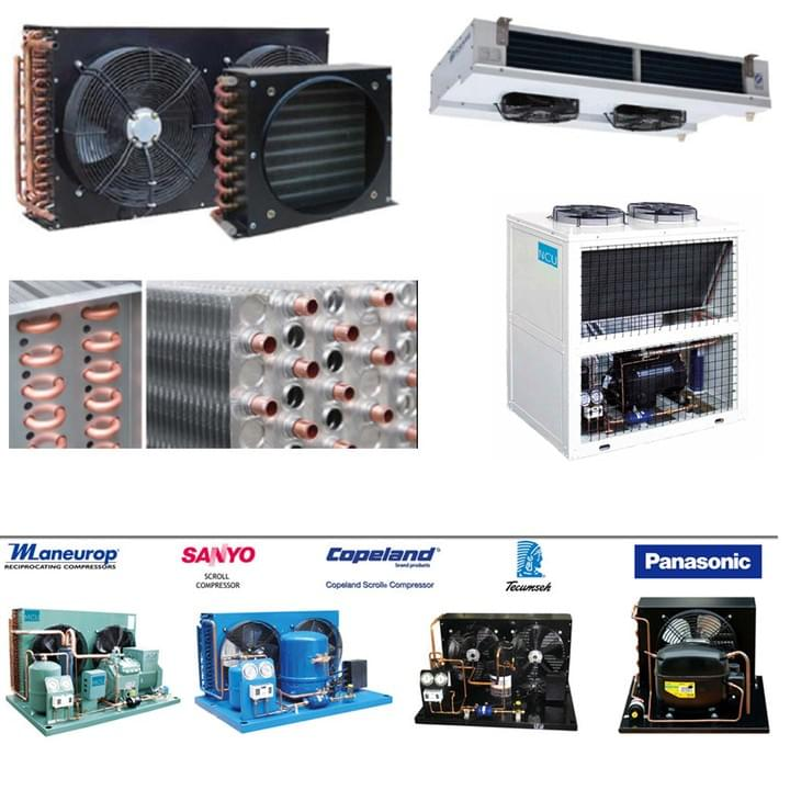 Condensing unit / Heat Exchanger / Condenser / Air Cooler